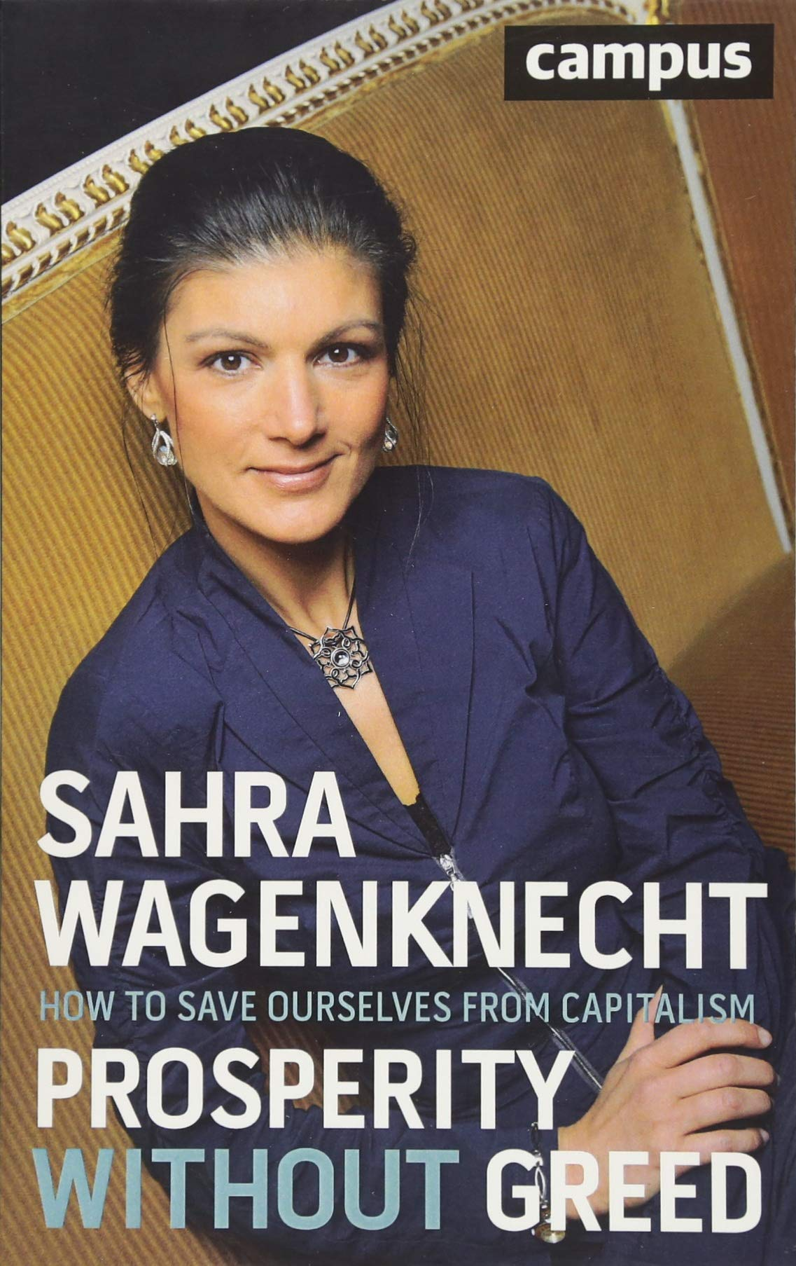 Image result for sahra wagenknecht prosperity without greed english