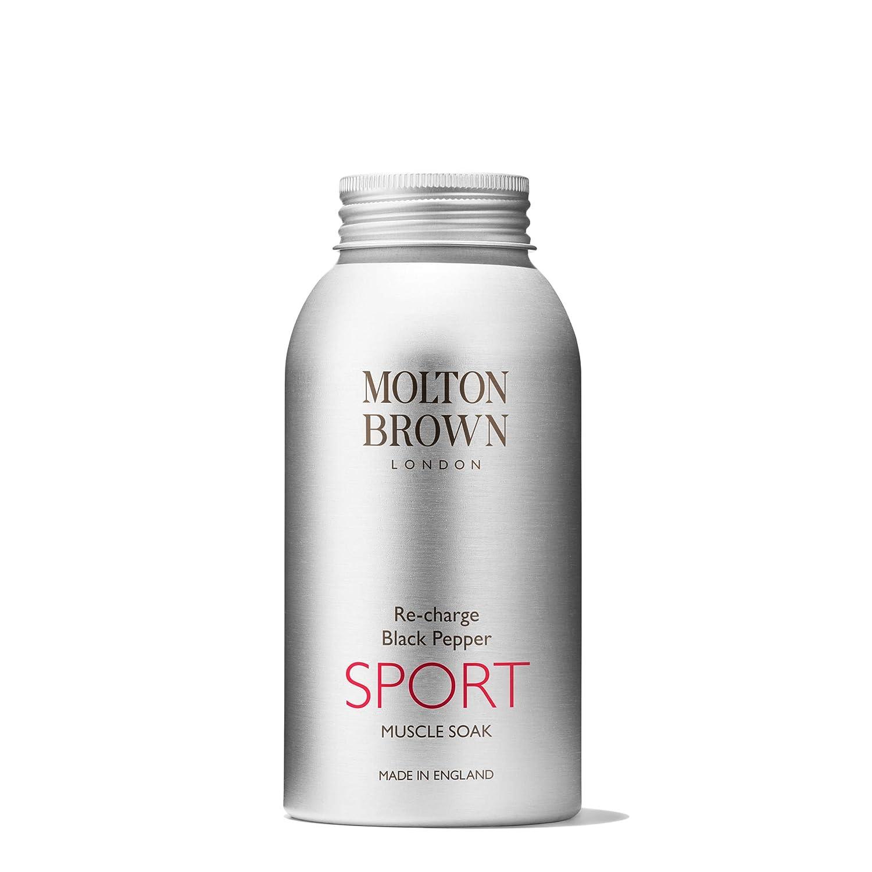 Molton Brown ricarica di pepe nero sport muscolare soak 300g MR154