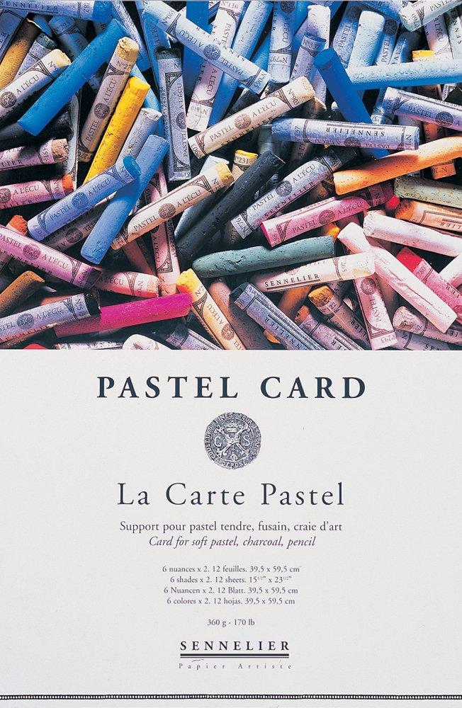 SENNELIER Pastel Card - Pastellkarton 12 Blatt, 360g, 40 x 60 cm