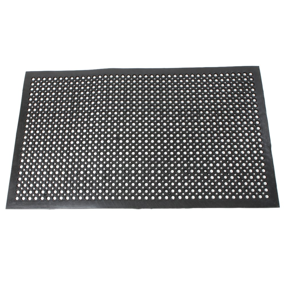 Rubber floor mats for wet areas - Amazon Com Fch Rubber Floor Mat 36x60 Inch Anti Fatigue Drainage Mat For Wet Areas Non Slip Bar Kitchen Industrial Rubber Cushion Bathtub Bathroom