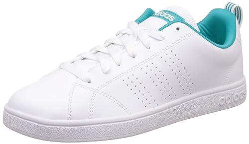 adidas Advantage Clean VS Pista de las Tenis de las mujeres-White ... cc3efd2255176