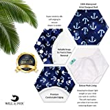 Will & Fox Reusable Swim Diaper Baby Girl Boy
