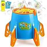 Esnowlee Bubble Machine, Rocket Bubble Maker 3000+ Bubbles per Minute, Automatic Bubble Blower for Kids Easy to Use Bubble Ma
