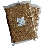 【新米元年産】JAS有機栽培米あきたこまち 玄米5kg(真空パック2.5kg×2)
