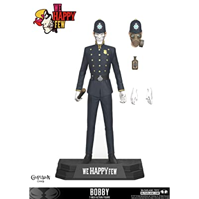 McFarlane Toys We Happy Few The Bobby 7-Inch Action Figure: McFarlane Toys: Toys & Games