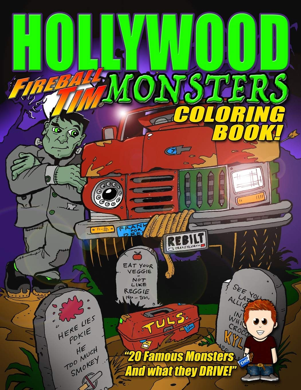 Amazon.com: House of Horrors coloring book: Monster Mazes (Tiki-Ty ... | 1360x1051