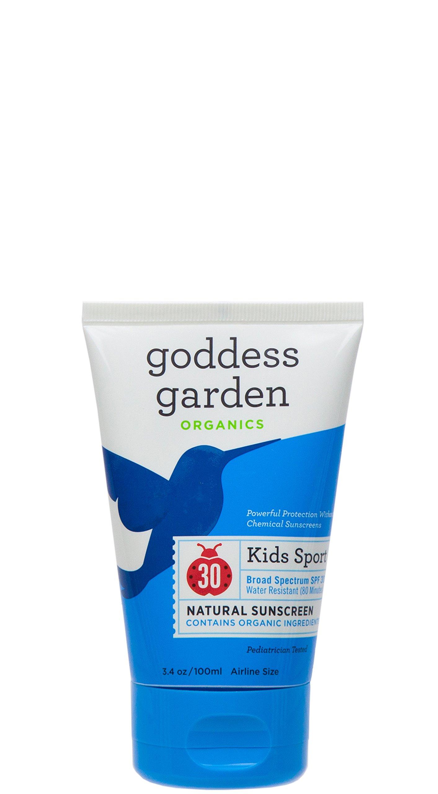 Goddess Garden Organics Baby Natural Sunscreen Lotion Spf