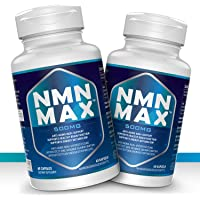2 Pack NMN Capsules with Maximum Strength- 500mg - High Absorption Nicotinamide Mononucleotide Supplement- Supports…