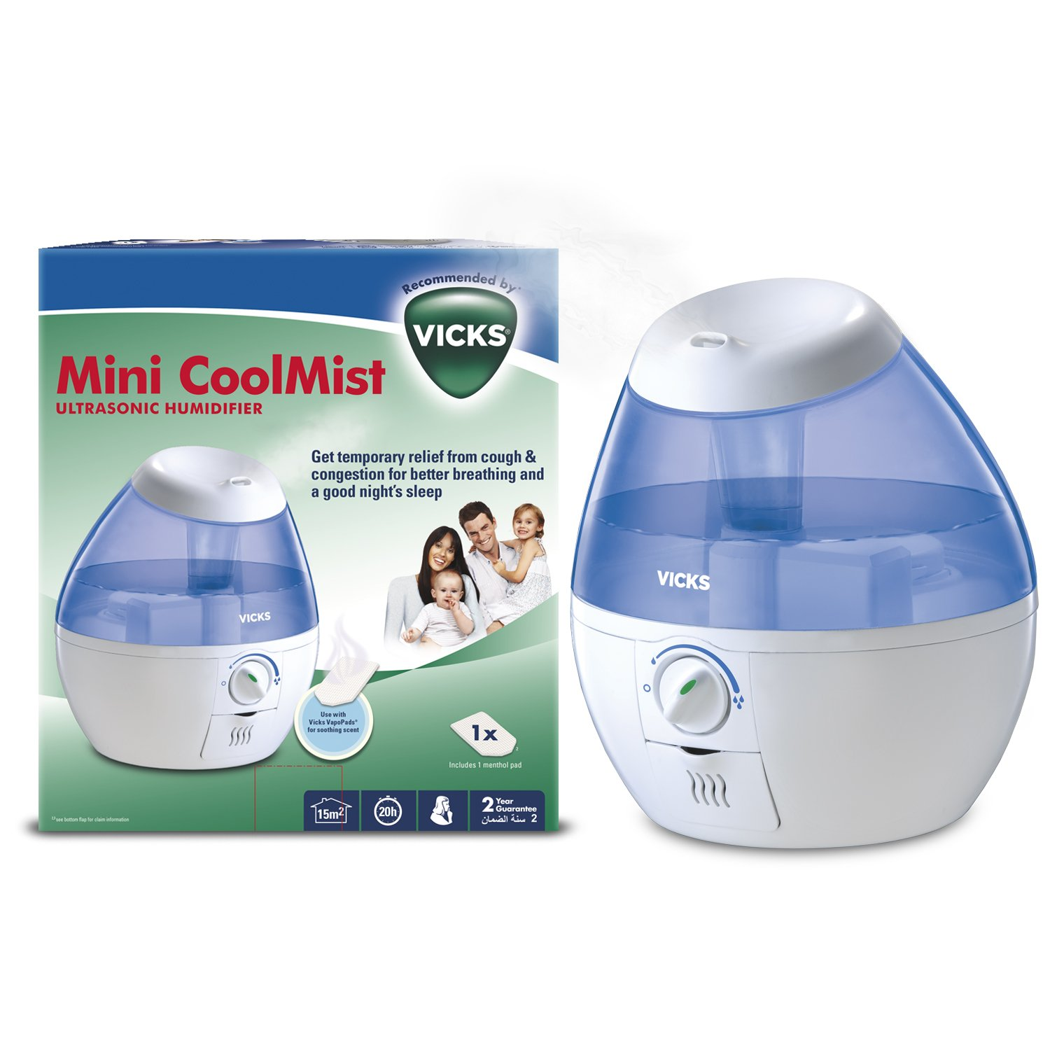 Vicks Cool Mist Mini VUL520E4