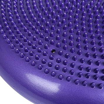 Durable universel gonflable Yoga d équilibre stabilité équilibre Disc Tapis  de coussin de massage 70e08623893