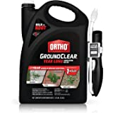 Ortho GroundClear Year Long Vegetation Killer - With Continuous Spray Comfort Wand, Visible Results in 1 Hour, Kills Weeds an