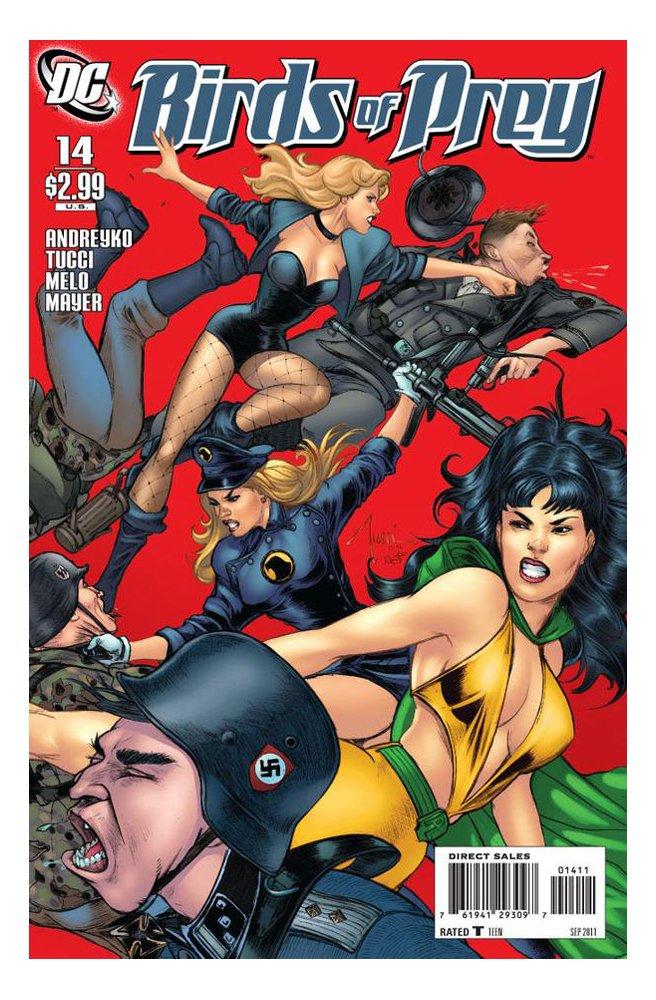 "Birds of Prey #14 ""Original Phantom Lady & Lady Blackhawk Appearance"" pdf"