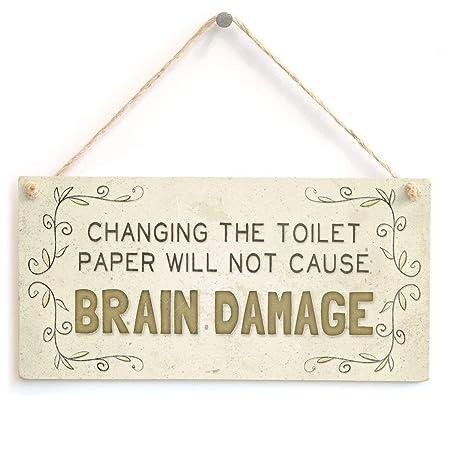 Hunnry Brain Damage Letrero de Placa de Madera Carteles de ...