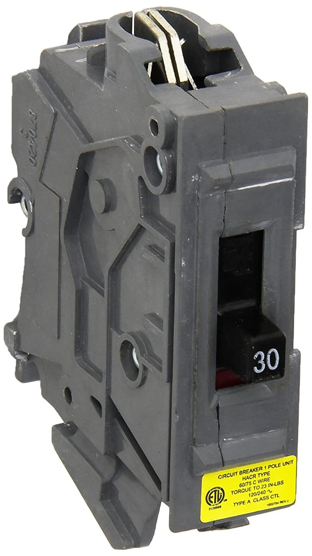 Connecticut Elec Vpkwa30 Circuit Breaker 30 Amp Magnetic 3 4 In Doublepole Type Ch Breakerch230 The Home Breakers