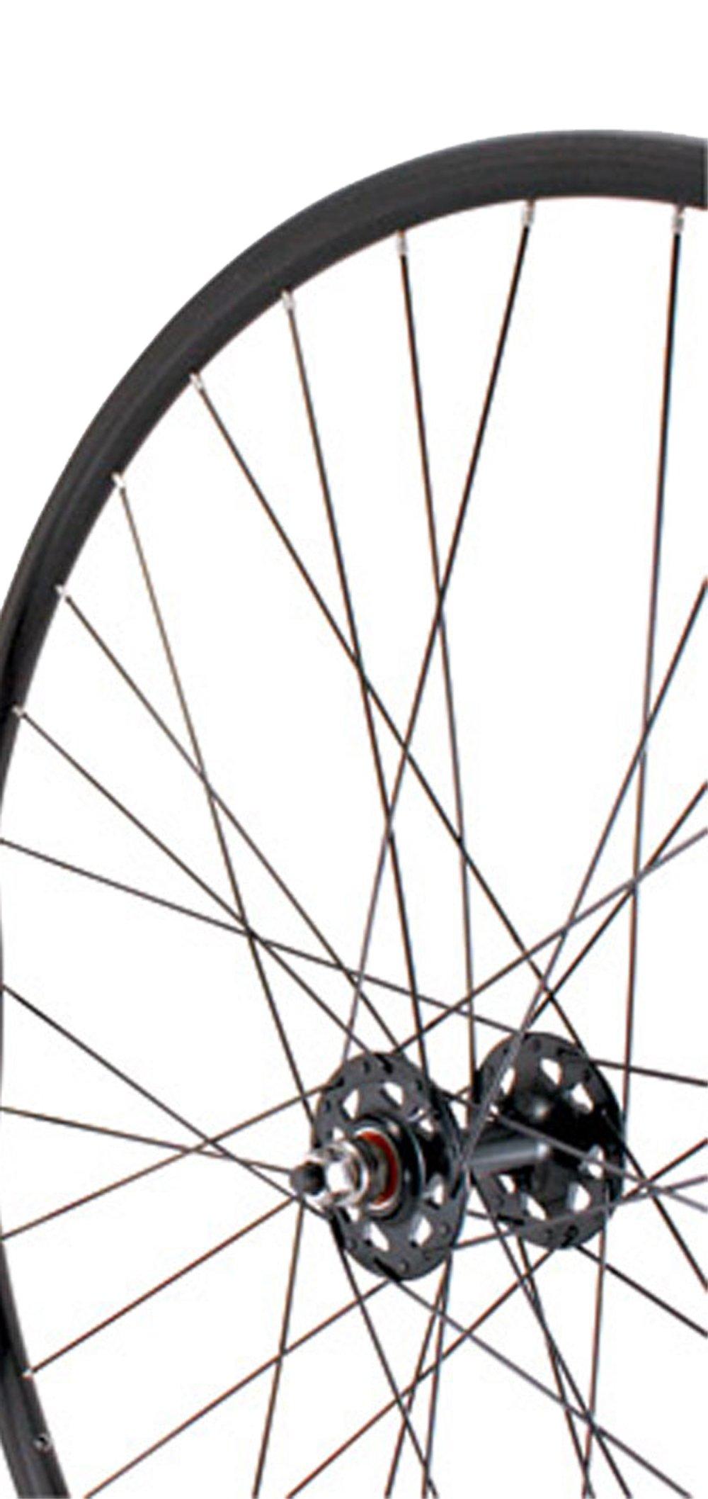Sta-Tru Black Formula Sealed Bearing High Flange 32H Track Hub Front Wheel (700X20)