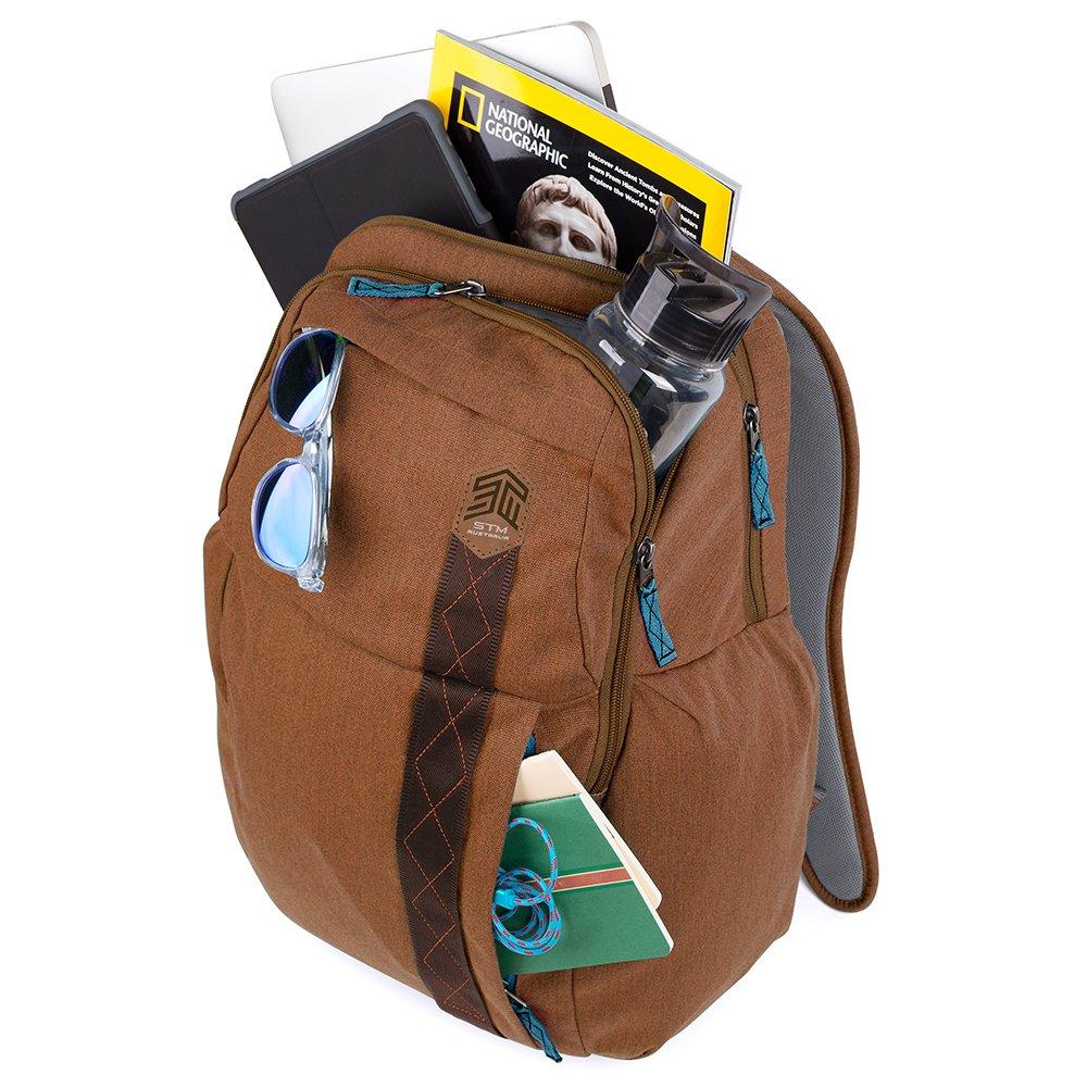 STM Kings Backpack For Laptop & Tablet Up To 15'' - Desert Brown (stm-111-149P-10) by STM (Image #4)