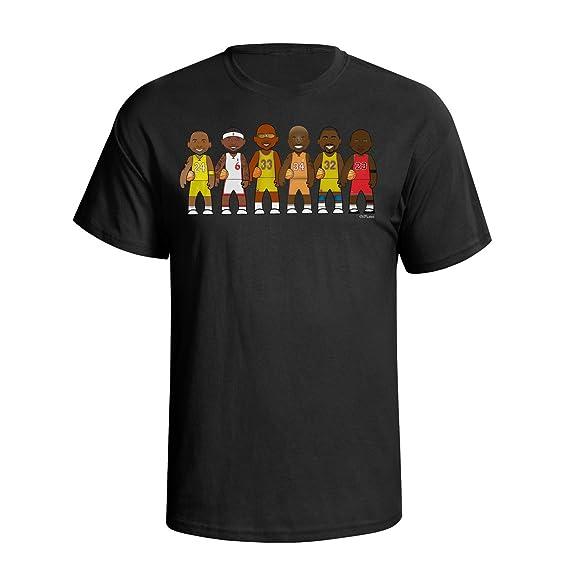 VIPwees Basketball Legends Mens Camiseta Para Hombre Caricature Sport T-shirt