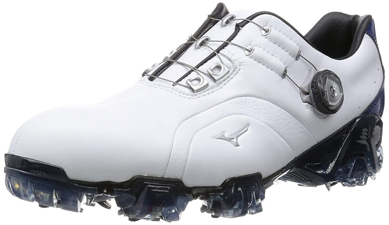 [ミズノゴルフ] ゴルフシューズ GENEM 006 Boa EEE(3E) B016ZWGACI 27.5 3E ホワイト/ブルー