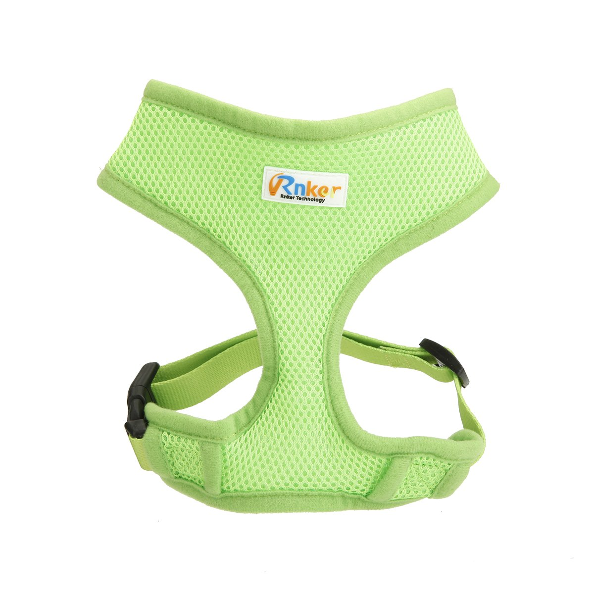 Green XL (21-32\ Green XL (21-32\ Rnker Soft Mesh Dog Harnesses Padded Vest No Pull Comfort Double Layer Harness Pet Puppy (Green XL)