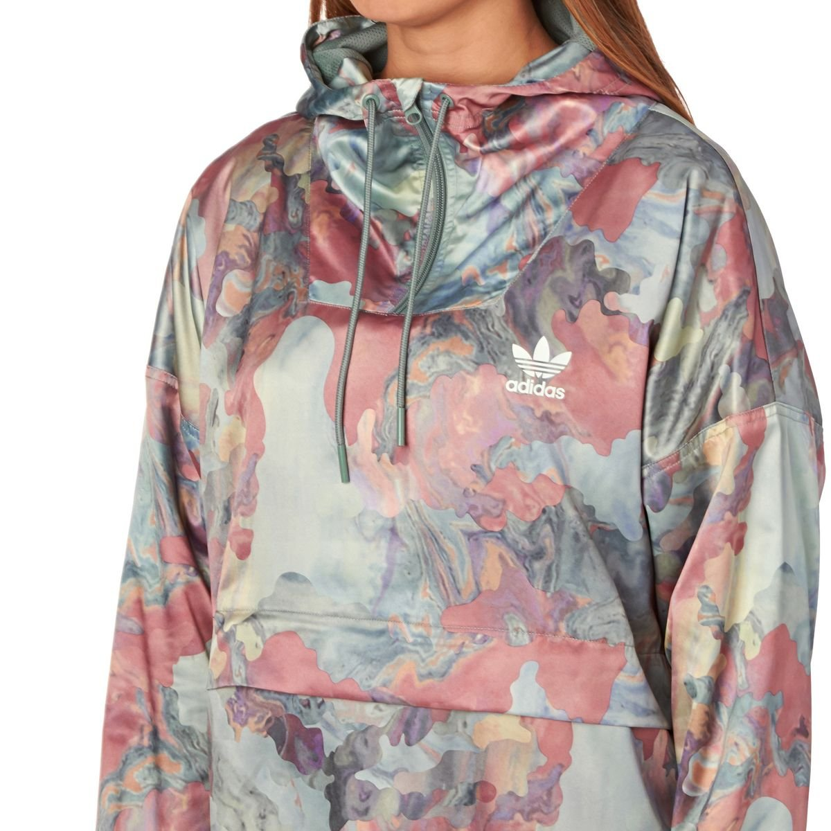 adidas Originals Damen Jacke Pastel Satin HZ Top Jacket