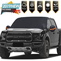 "$24 » Windshield Snow Ice Covers Extra Larger Size 97""x 63"" Shade Waterproof Sun Protection All Cars,…"