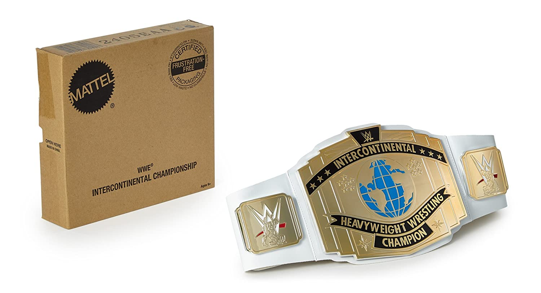 WWE Intercontinental Championship Snowflake Ornament