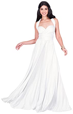 ad21d266881c1 KOH KOH Petite Womens Long Bridesmaid Multi-Way Wedding Convertible Wrap  Infinity Cocktail Sexy Summer