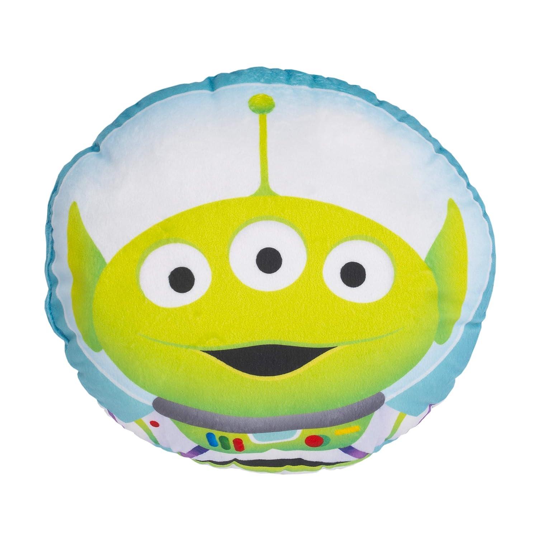 Disney Toy Story 4 Alien Aqua, Green & White Decorative Shaped Pillow, Green, Light Blue, Purple, White