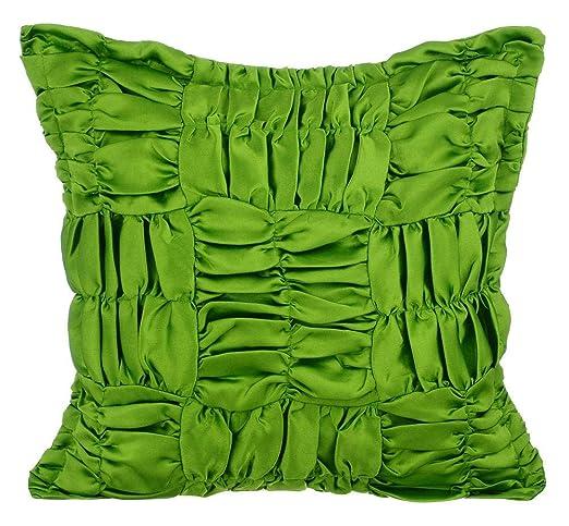trébol verde fundas cojines, 65x65 cm fundas de almohadones ...