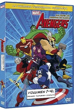 Pack Marvel Los Vengadores - Volumenes 1-4 [DVD]: Amazon.es ...