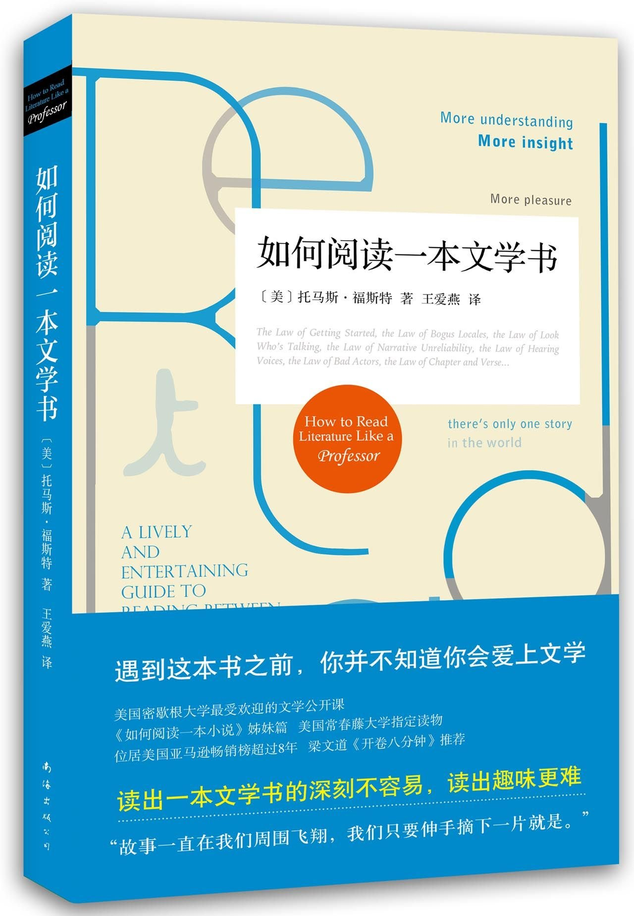 How to Read Literature Like a Professor (Chinese Edition) pdf epub