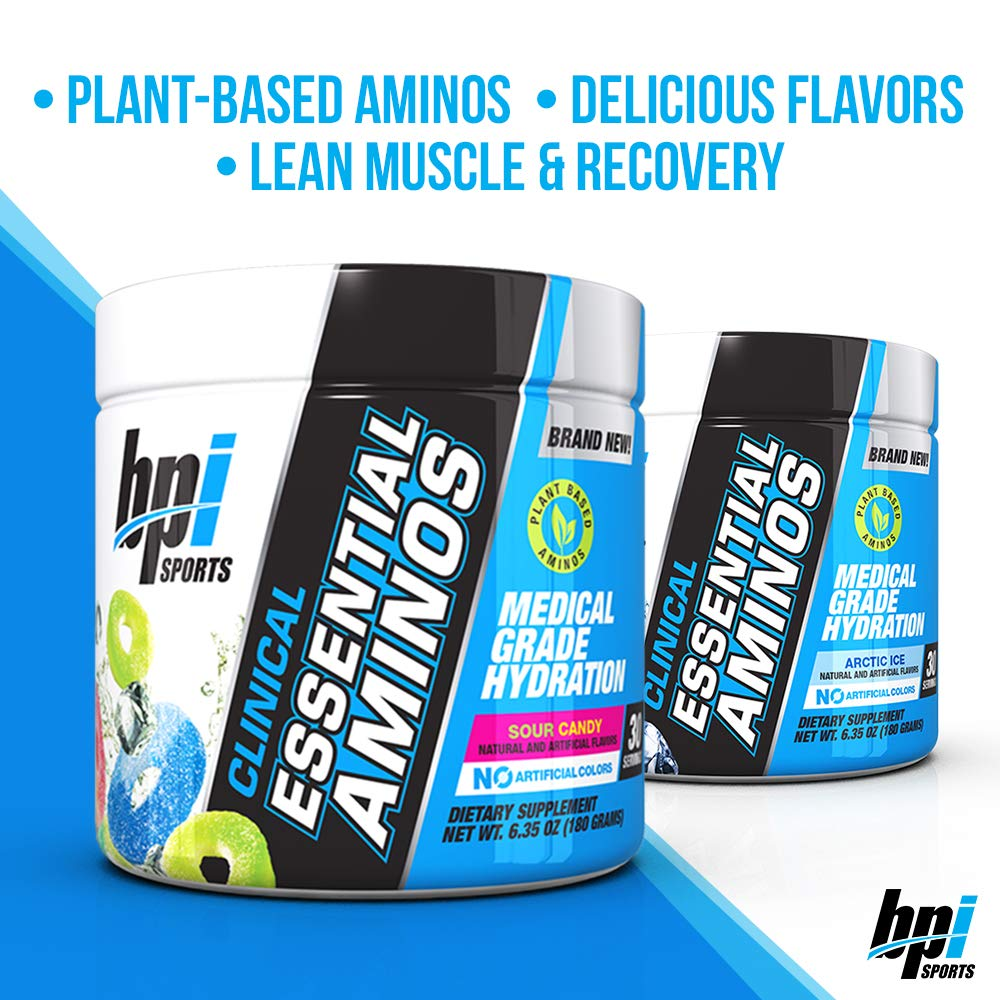 BPI Sports Clinical Essential Aminos - Sour Candy - 30 Serv: Amazon.in: Health & Personal Care