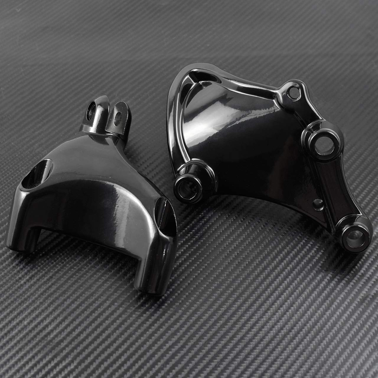 YHMTIVTU Motorcycle Foot Pegs Passenger Foot Rests for 2014-2019 Harley Sportster Iron XL 883 1200 48 72