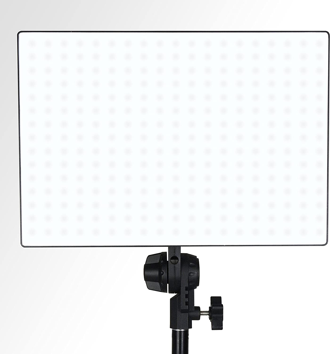 AGG2593 Limostudio 432 Bi-Color LED Dimmable Photo Studio Light Panel with Color Temperature Control and Two Handles for Indoor and Outdoor Photoshoot