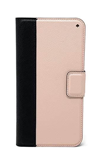 official photos a0d6b b8d32 Amazon.com: Kate Spade New York Colorblock Folio Case for iPhone XR ...