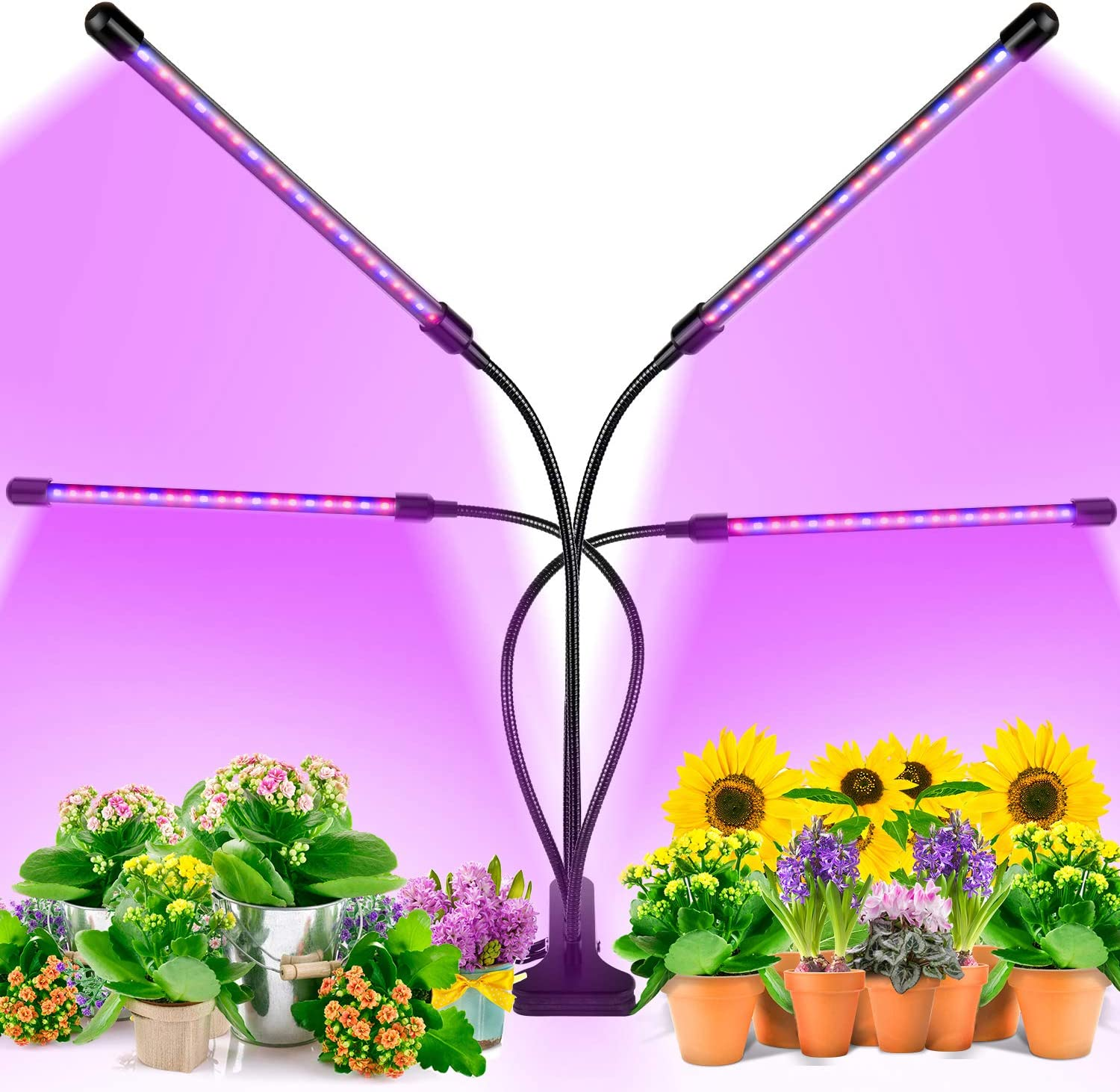 EZORKAS Dimmable Levels Plant Grow Lights