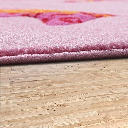 Kinder Teppich Pferde Design Konturenschnitt Kinderzimmer Teppiche