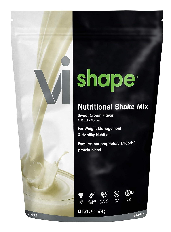 ViSalus Vi Shape Nutritional Shake Mix Sweet Cream Flavor | 22oz (1 Bag, 24 servings)