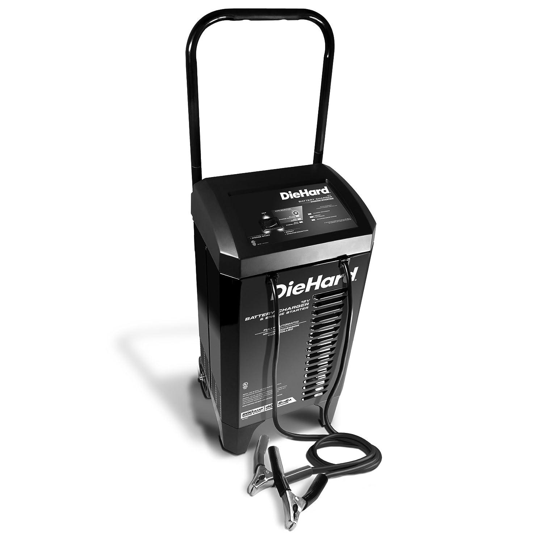 Amazon.com: DieHard 71331 Smart Wheel Battery Charger & Maintainer 12 Volt  2&lt&gt6A Charge 40A Boost 200A Jump Starter: Automotive