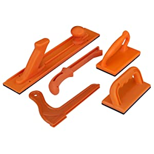 POWERTEC 71009Safety Push Block and Stick Package, 5-Piece