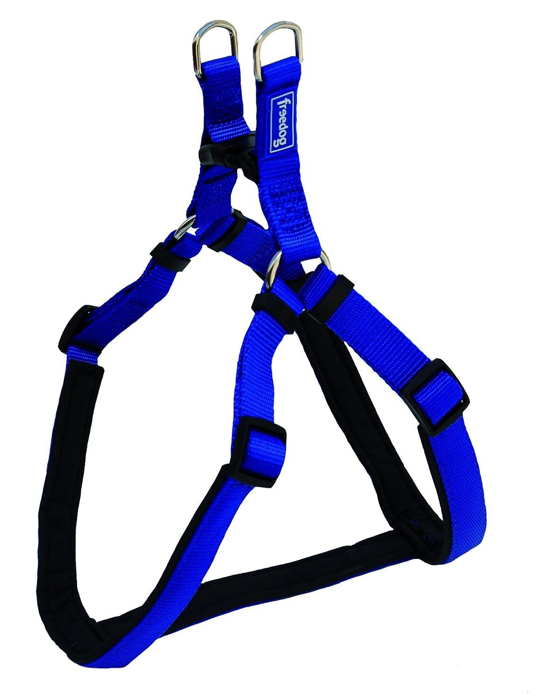 Freedog FD4000306 - Arnés Nylon, para Perro, Color Azul: Amazon.es ...