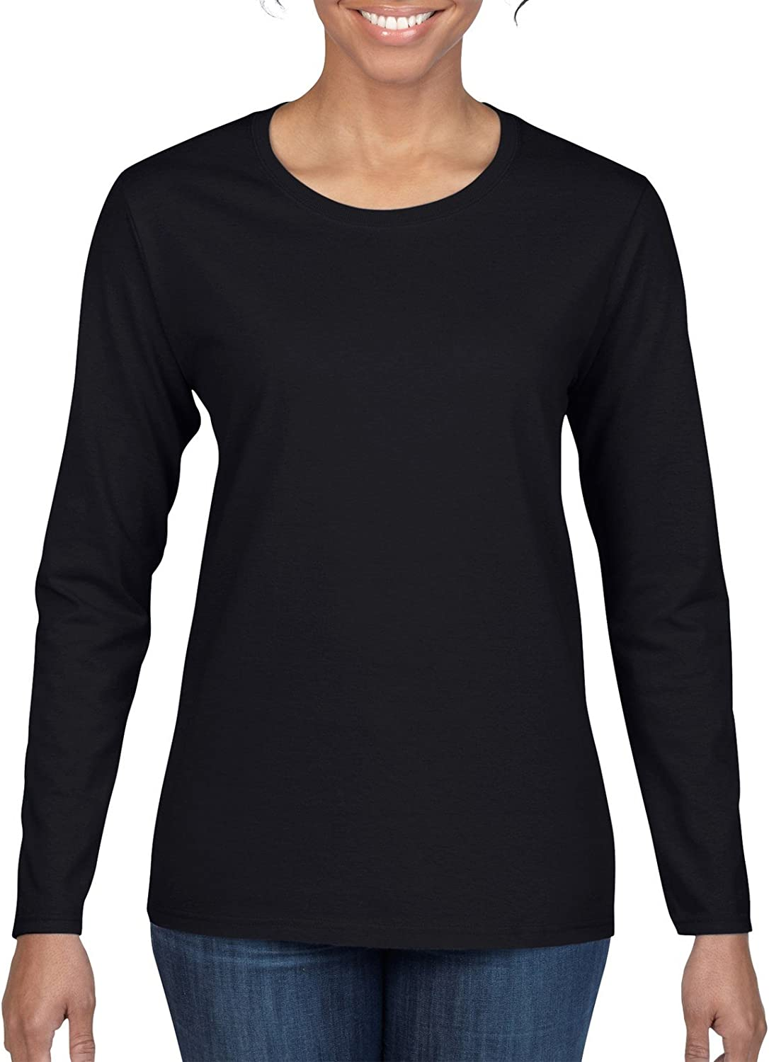 Hdaw Weapons of Choice Womens Long Sleeve T-Shirts Cotton Tops Tee