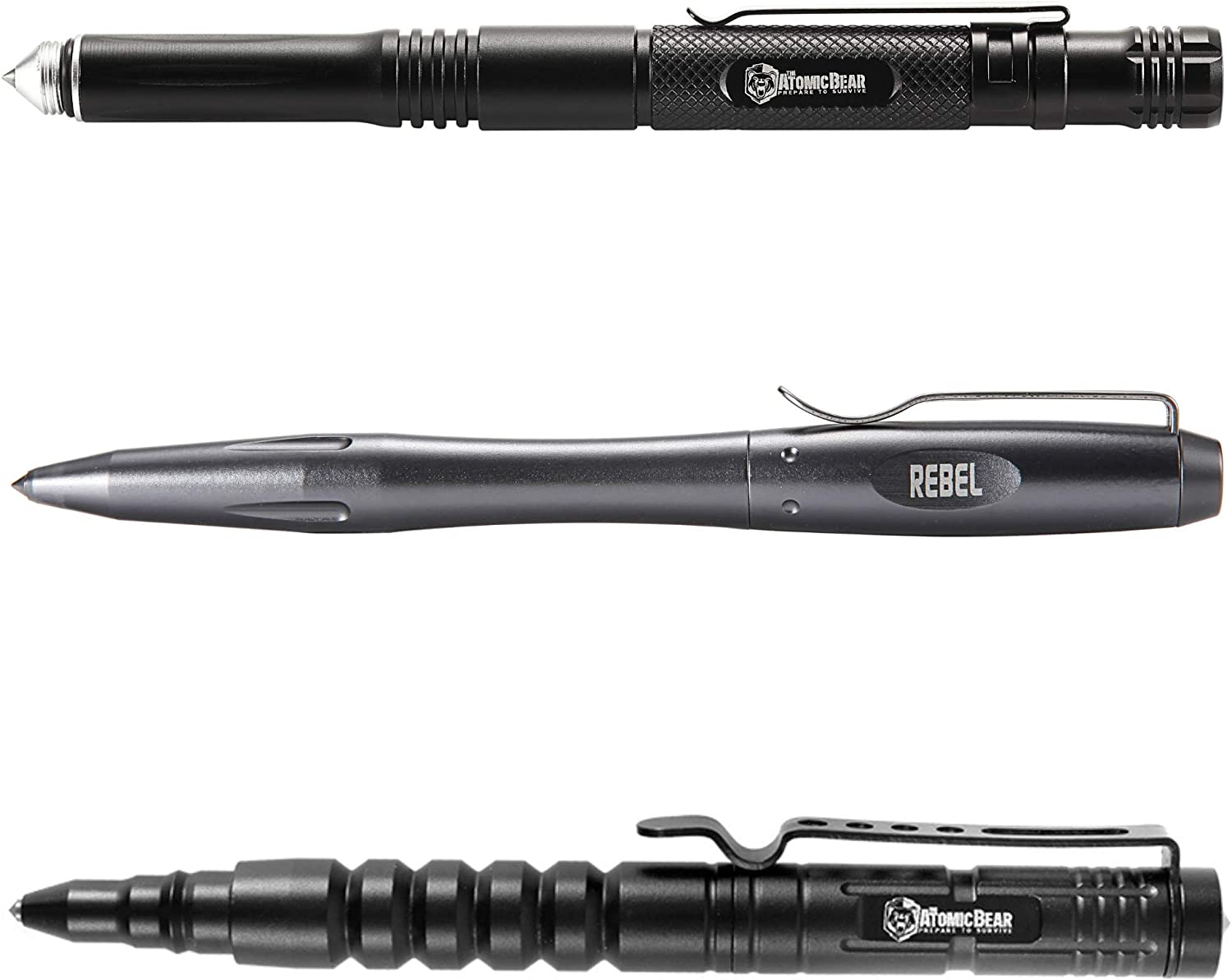 Tactical Pen Accessories for MTP-6 by Atomic Bear