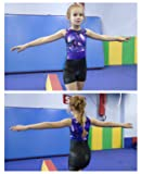 Gymnastics Leotards for Girls 3T 4T Purple Toddlers