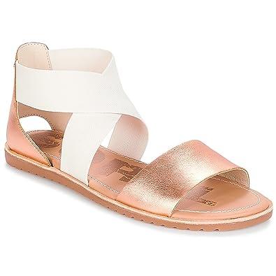 Sorel Damen Ella Peeptoe Sandalen: : Schuhe