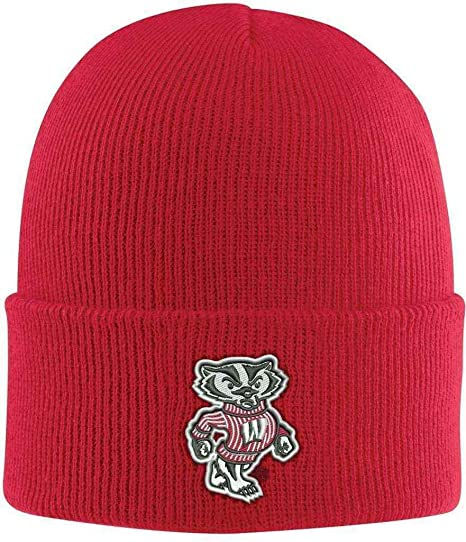 Amazon.com   NCAA Wisconsin Badgers Acrylic Watch Hat d1a86b36f11