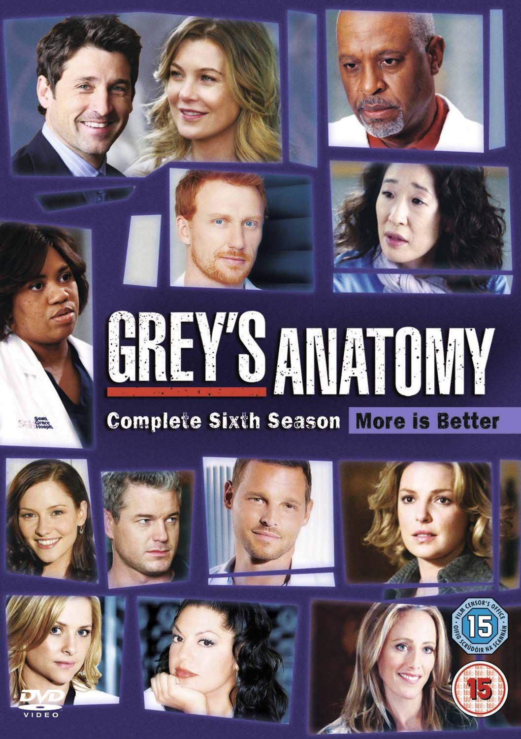 Amazon Greys Anatomy Season 6 Dvd Ellen Pompeo Sandra Oh