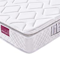 DOSLEEPS Double Mattress 4FT6 9-Zone Pocket Sprung Mattress