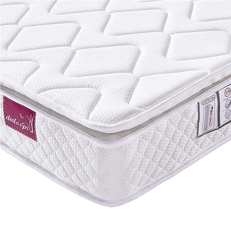Meglio Materasso A Molle O Memory Foam.Materasso Dosleeps Memory Foam E Tessuto 3d Traspirante 4ft6