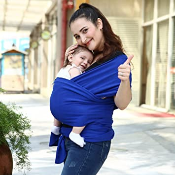 Amazon Com Joylor Baby Wrap Carrier Stripes Easy To Put On